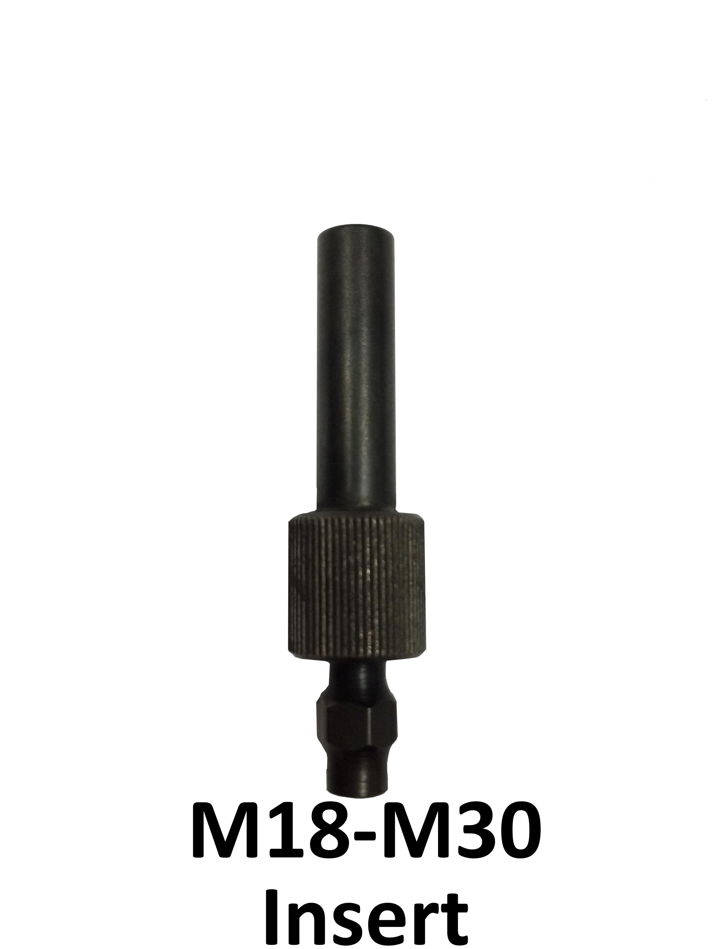 Adaptateur poign e motoris e pour insert m18 m30 leitech - Adaptateur granule pour insert ...